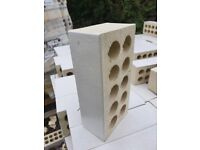 glazed white faced brick