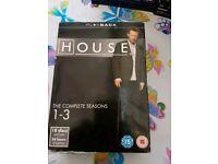 House season 1-3 DVD