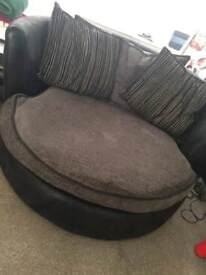 2 seater and cuddle couch