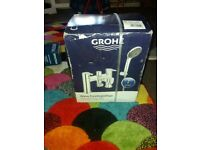Grohe bath shower mixer kit
