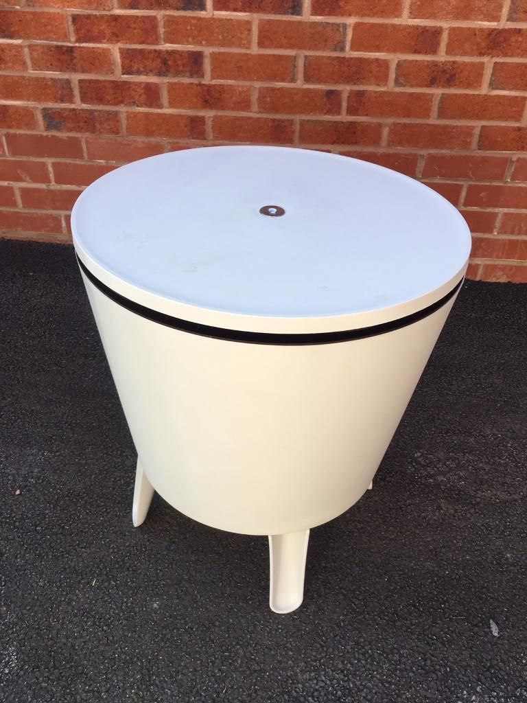 Table Drinks Cooler Outdoor Garden Drinks Cooler Storage Table In Congleton