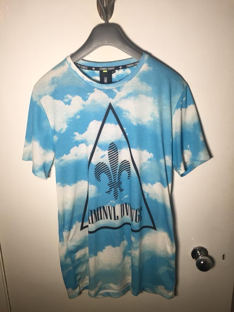 Criminal Damage Cloud T-Shirt