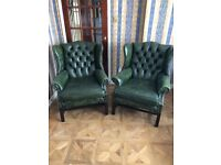 Reproduction leather chairs