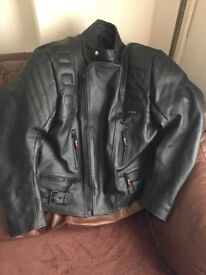 Gear X Men's motorbike leather jacket