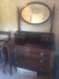 Pretty Edwardian dressing table