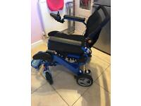 Electric wheelchair - foldalite pro