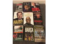Selection of football biographies