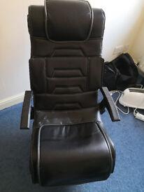 X Rocker Pro 3.1, Faux Leather, Black, 87 x 63 x 104 cm