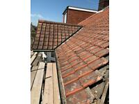 Courtrai clay roof tiles