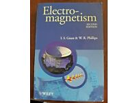 Electro-Magnetism 2nd Edition - Physics Textbook - Grant & Phillips