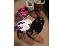 Womens Shoe and Boot Bundle Size 6