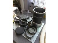 Nutri bullet with accessories