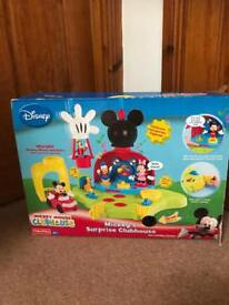 Mickey Mouse club house & camper van
