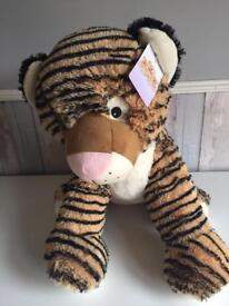 Large Tiger Soft Toy, 48cms tall