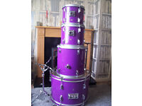 4 piece shell pack drums £80 ovno