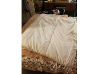Kingsize duvet 10.5 tog, synthetic filling, used on spare bed, great condition