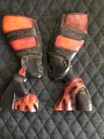 African Masks x2