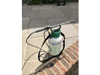 Hozelock 5L Pump Action Pressure Sprayer - use with water, fertilizer or pesticides