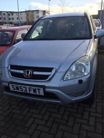HONDA CR V FOR SALE , Metallic Silver,53 Registration , Automatic, service history