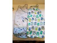 Two Mothercare grobags 0-6months