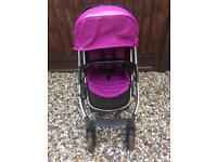 Pre-owned Oyster modular pram pushchair buggy with chrome trim