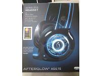 Afterglow Wireless Headset AGU.1S XBOX 360 PS3 Wii WiiU