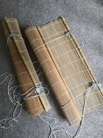 Roll up bamboo blind, 60 x 160 cm