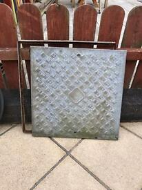 Man hole covers and chimney bird guard