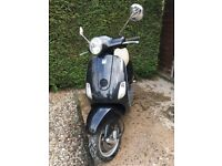 VESPA LX50 SCOOTER BLACK AUTOMATIC
