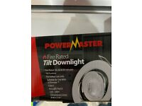GU10 fire rated downlights BRAND NEW, unboxed
