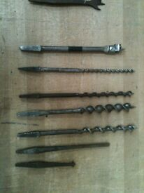 Wood auger and marple bits