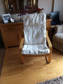 Ikea chair from smoke and pet free home