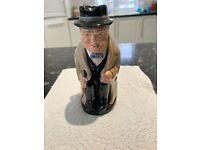 Royal Dalton Toby jug collectionWinston Churchill D6454