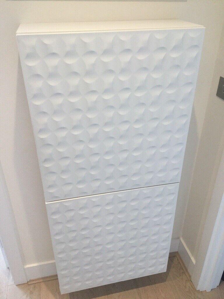 Ikea Besta 2 Frames With White Doors 60 X 20 X 64 Cm In London Gumtree