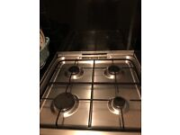 Indesit Gas Cooker. 60cm in width, oven and grill. Great condition must be collected by 22nd april.