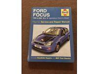Ford Focus 1998-2001 Haynes Manual