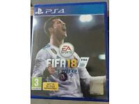 Fifa 18 PlayStation 4 Game Brand new
