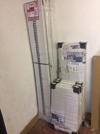 9 x Central heating radiators brand new