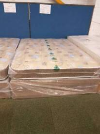 Robin quilted 4.6ft double bed