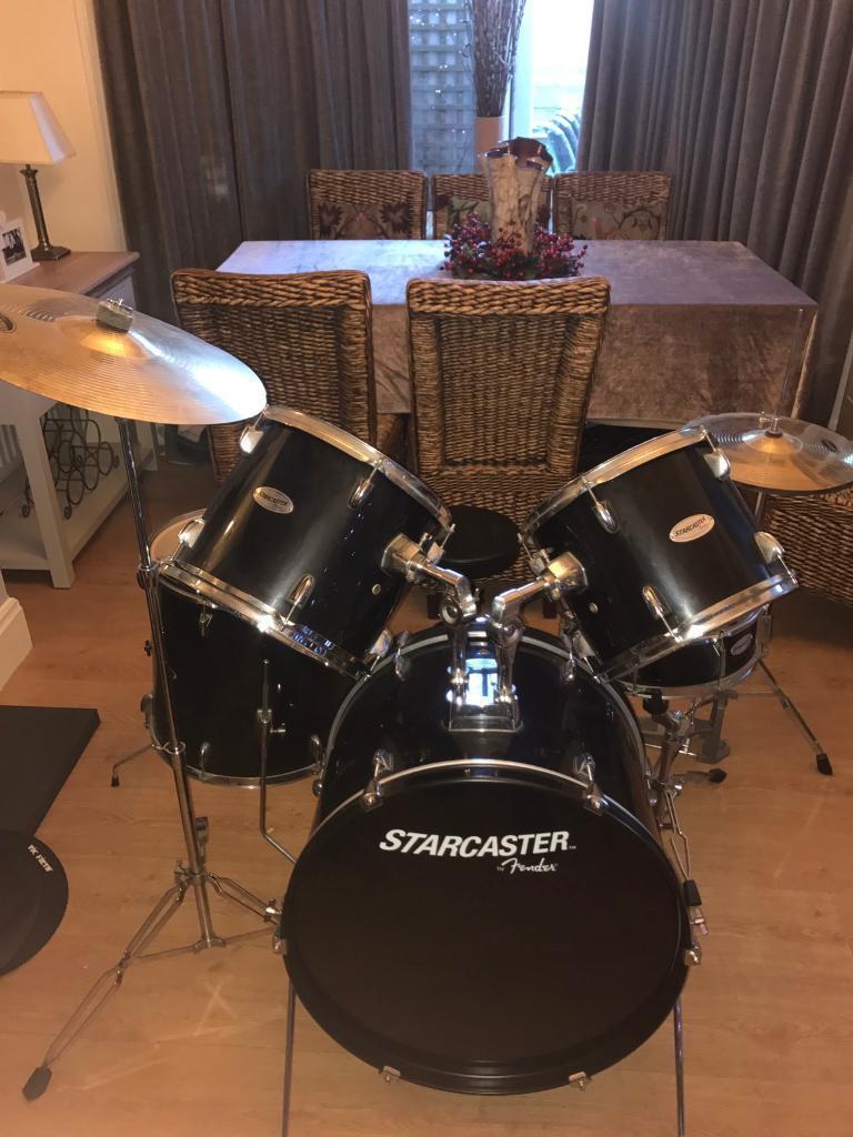 Starcaster Drum Set By Fender - Best Fender 2018