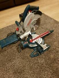 Bosch GCM 8S Sliding Compound Mitre Saw 110V