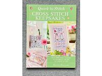 Quick to Stitch Cross Stitch Keepsakes : Hardcover book