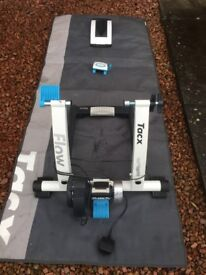 Tacx iflow turbo trainer with Head Unit +software + accessories-hardly used-only £250