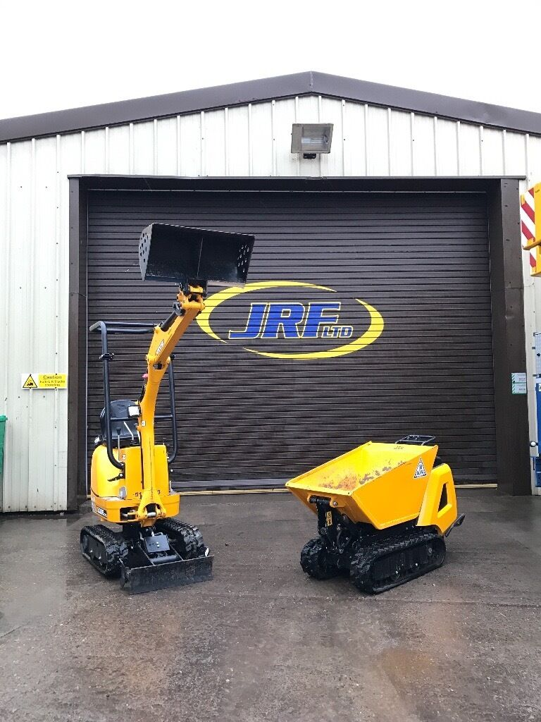 Micro/ Mini Digger Hire FIFE