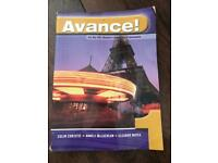 Avance french study book