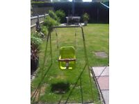Baby swing in perfect condition. Used occasionally. Only selling as our grandson has out grown it.
