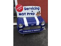 Mini front advertising board