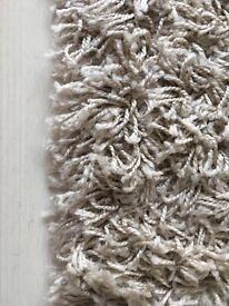 Shaggy Beige Carpet 70x140