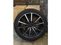 Alloy wheels 225/45/17