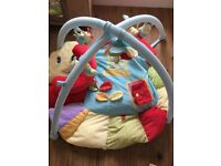 Soft playmat and baby gym